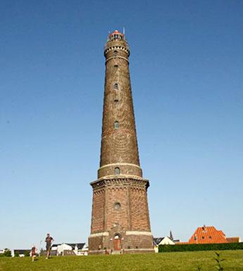 Der alte Leutturm auf Borkum – Ferienwohnung Chilldüne Borkum